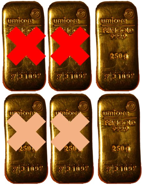 Gold Bullion Missing