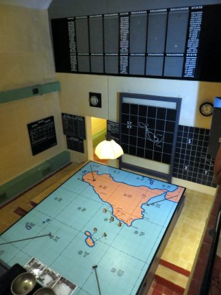 RAF Sector Fighter Control Room Plotting Table