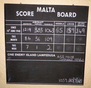 Lascaris score board