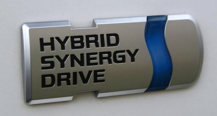 Hybrid Synergy Drive Logo