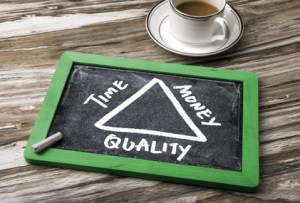 Time Money Quality