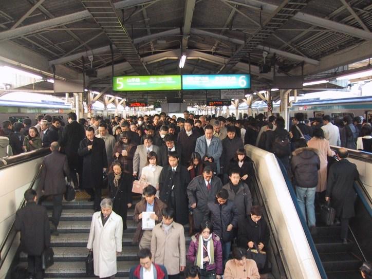 Rush Hour in Tokyo