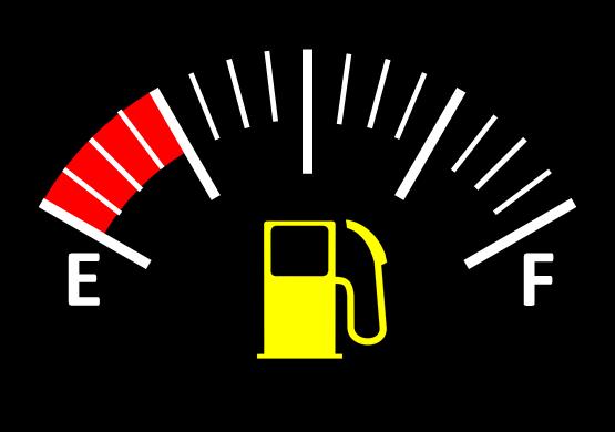 Fuel Gauge Red