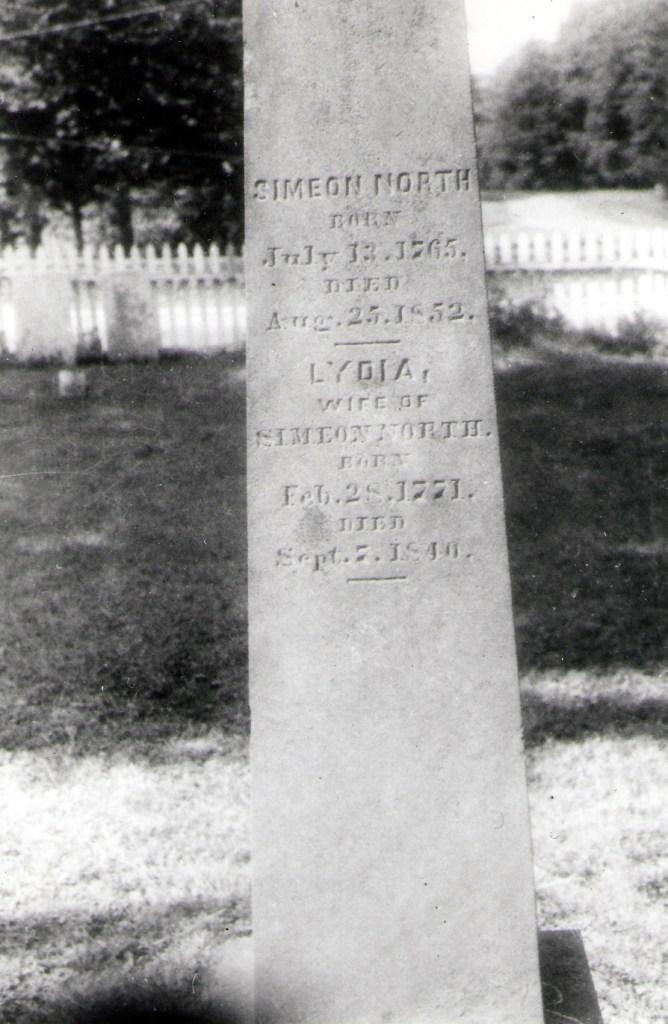 Grave of Simeon North