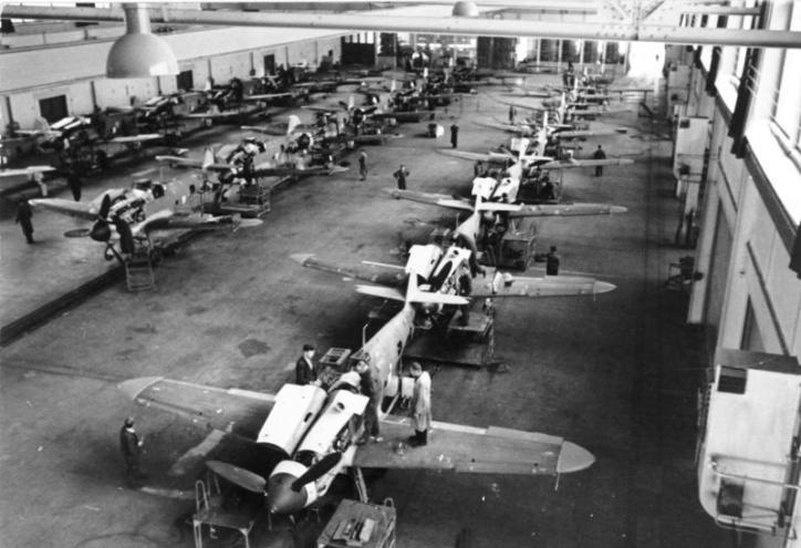 Messerschmitt Me 109 Production