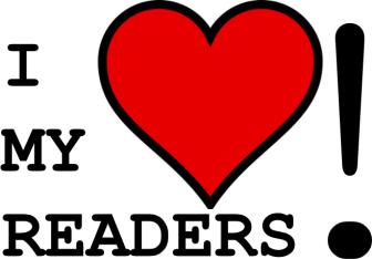 I love my readers!