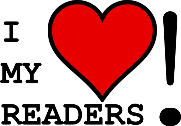 Image result for I love my readers image