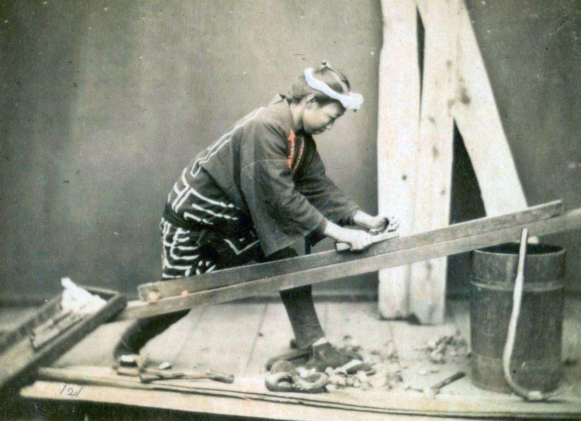 Japanese Carpenter