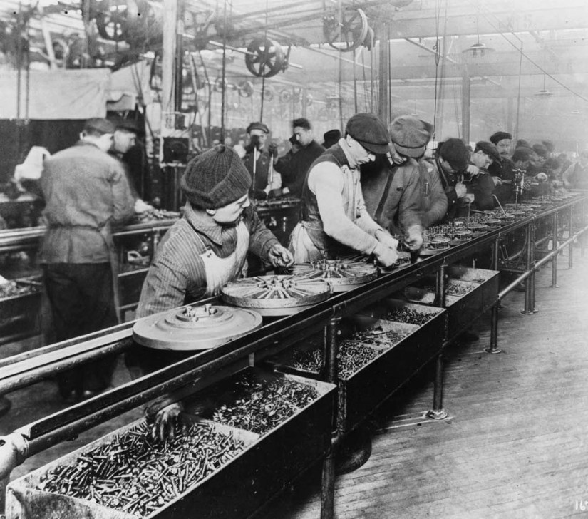 Ford Magneto Assembly Line