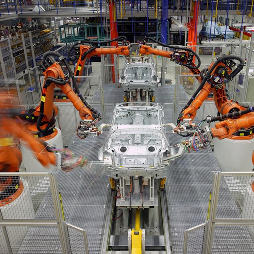KUKA Automotive Spot Welding