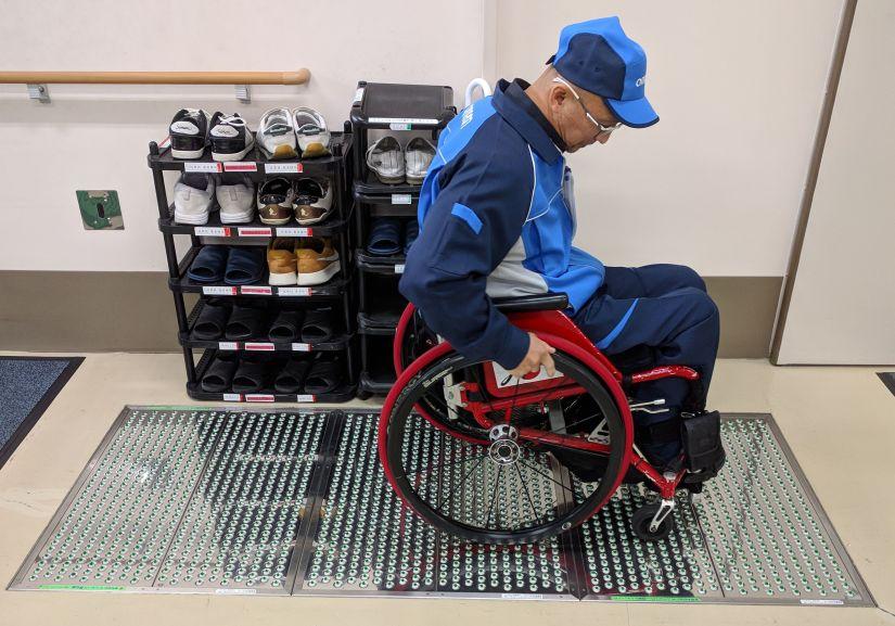 Wheelchair Vacuum Cleaning