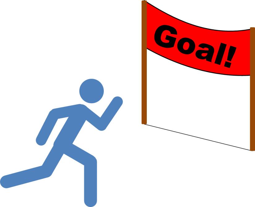 Running to Goal