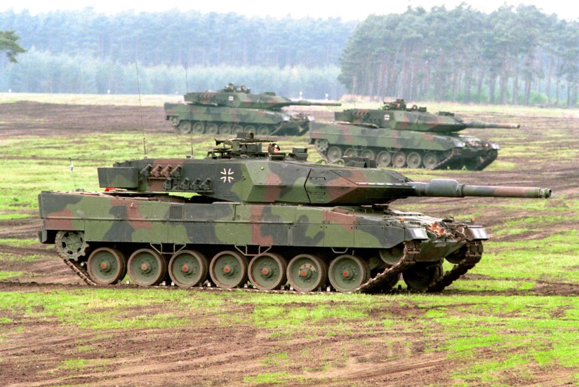 Leopard 2 A5 of the Bundeswehr