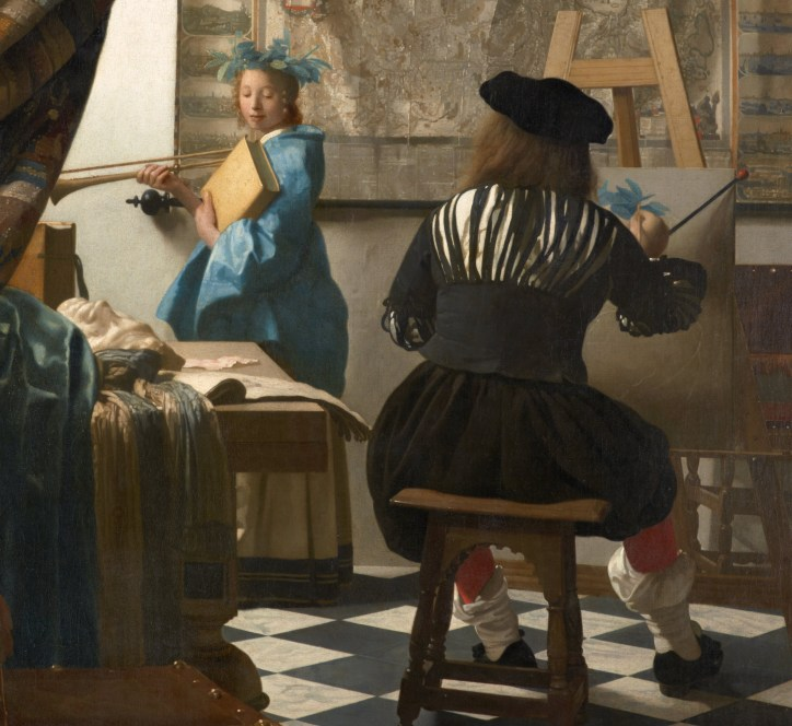 Jan Vermeer - The Art of Painting