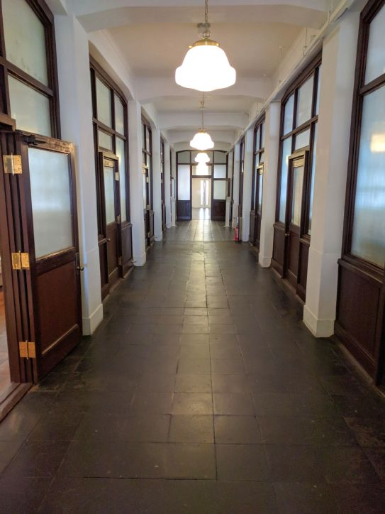 Nissan Historic Office Corridor