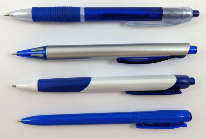 Different Ballpoint Pens