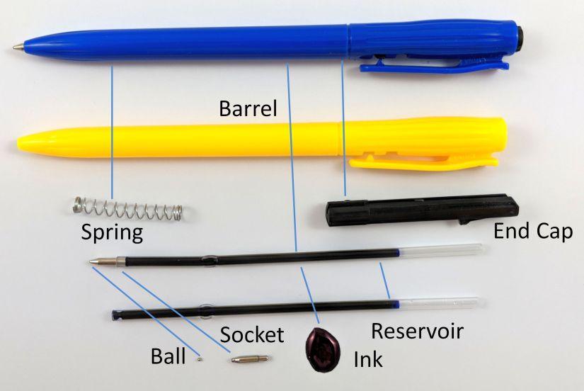 Disassembled Ballpoint Pen 4