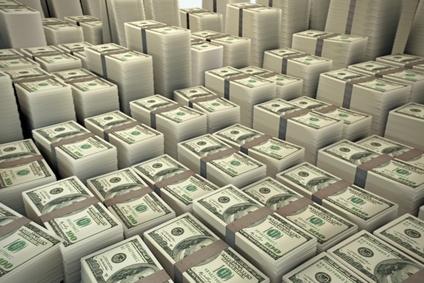 Stack of Dollar