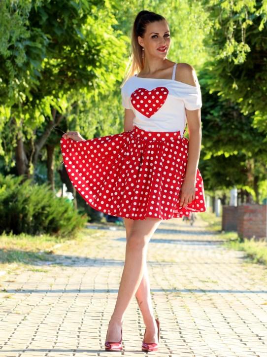 Polka Dot Girl