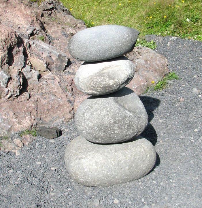 Rock Stacking Iceland