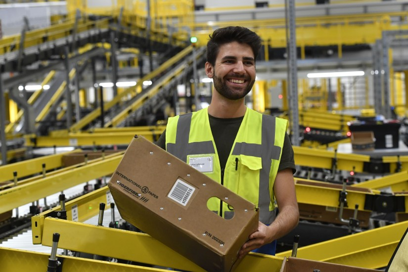 Worker at Amazon