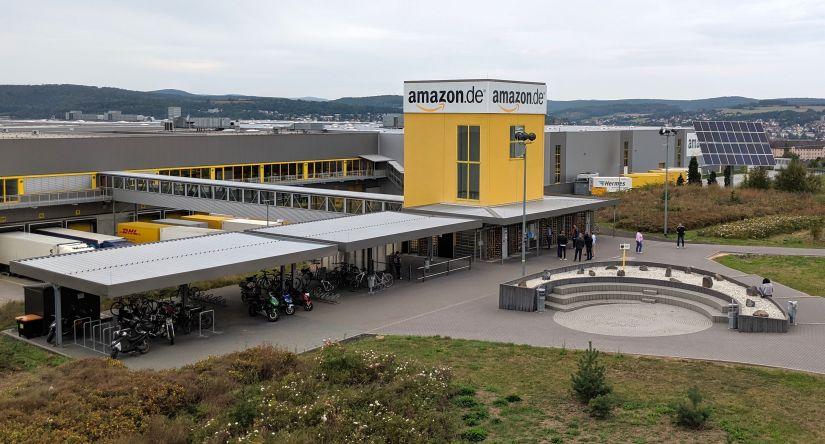 Amazon FRA3 Entry Bridge