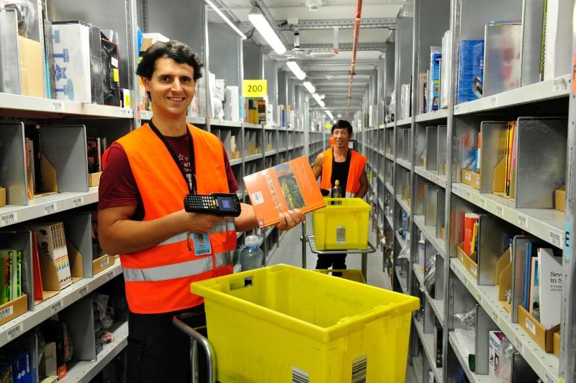 Amazon manual picking