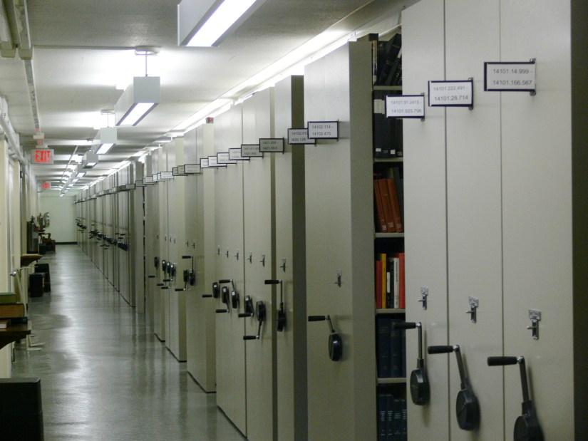 Mobile Shelving Library