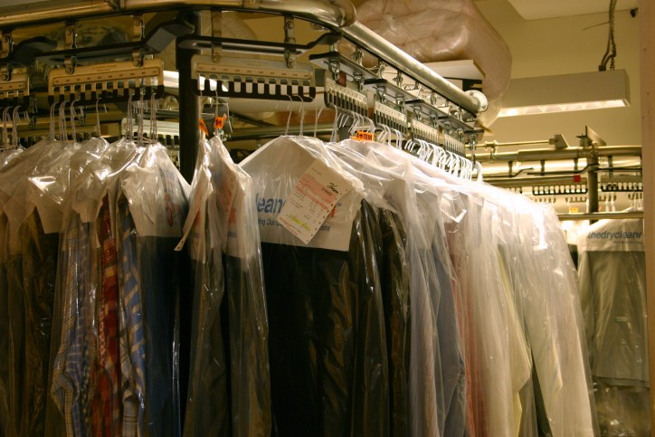 Dry Cleaner Rack