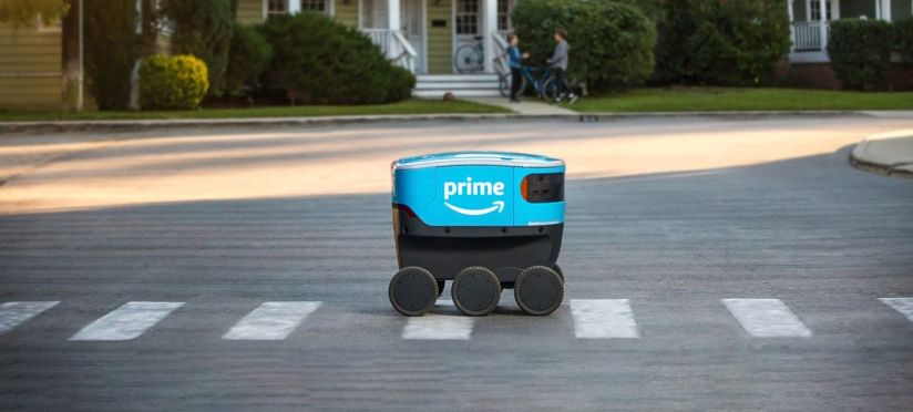 Amazon Scout Delivery Robot