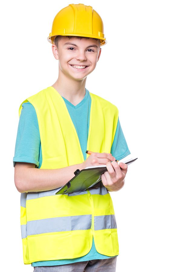 Young Inexperienced worker