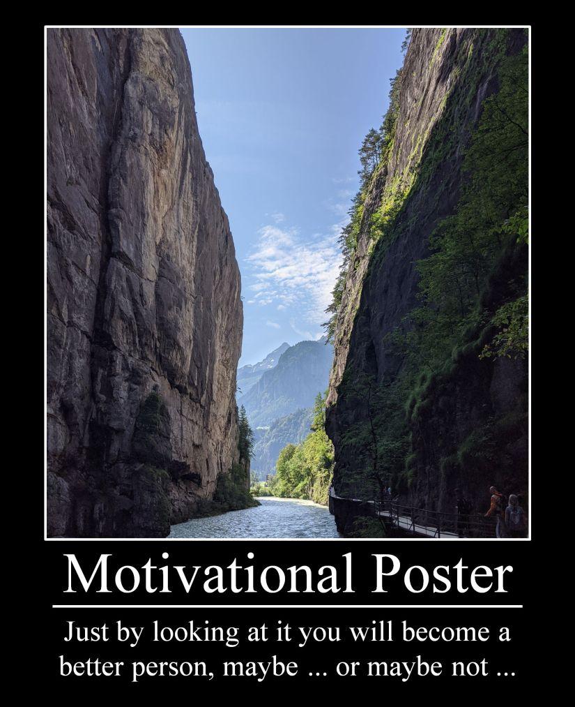 Fake Motivational Poster