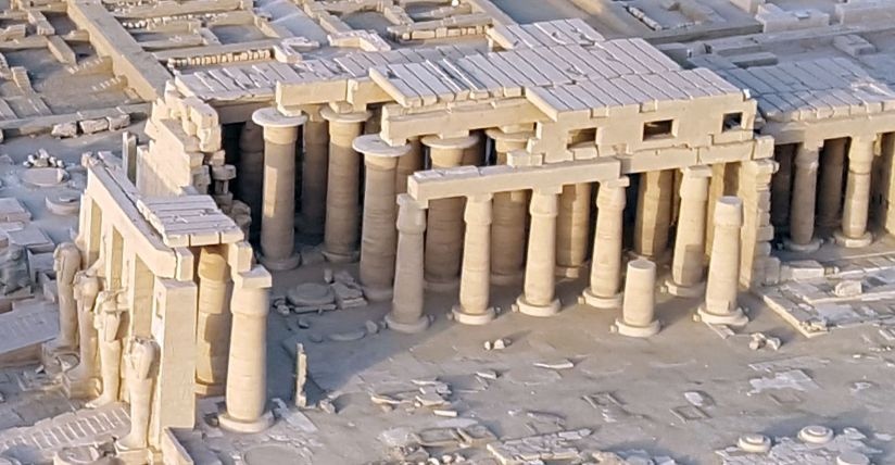 Luxor Aerial View