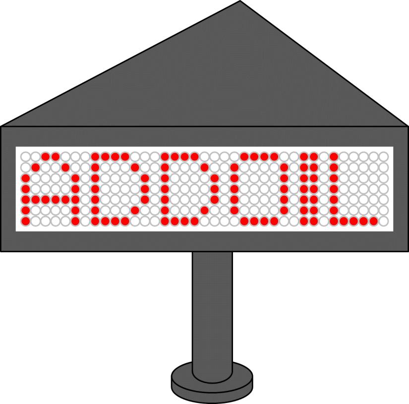 ABB Stotz-Kontakt LED Text Band