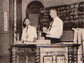 Deming teaching in Japan 1950