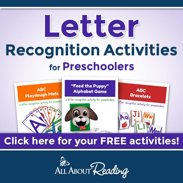 Preschool Letter Recognition - Homeschool Preschool Curriculum