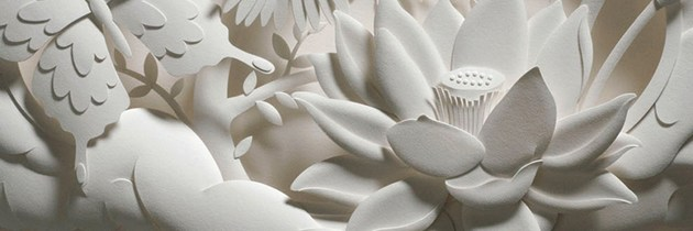 Paper Sculptures by Jeff Nishinaka.
