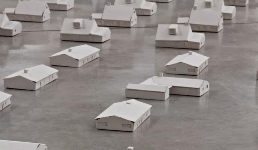 Paper Installation by Piotr Chizinski