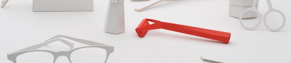 """Paper Cut Razor"" by Nadeem Haidary."