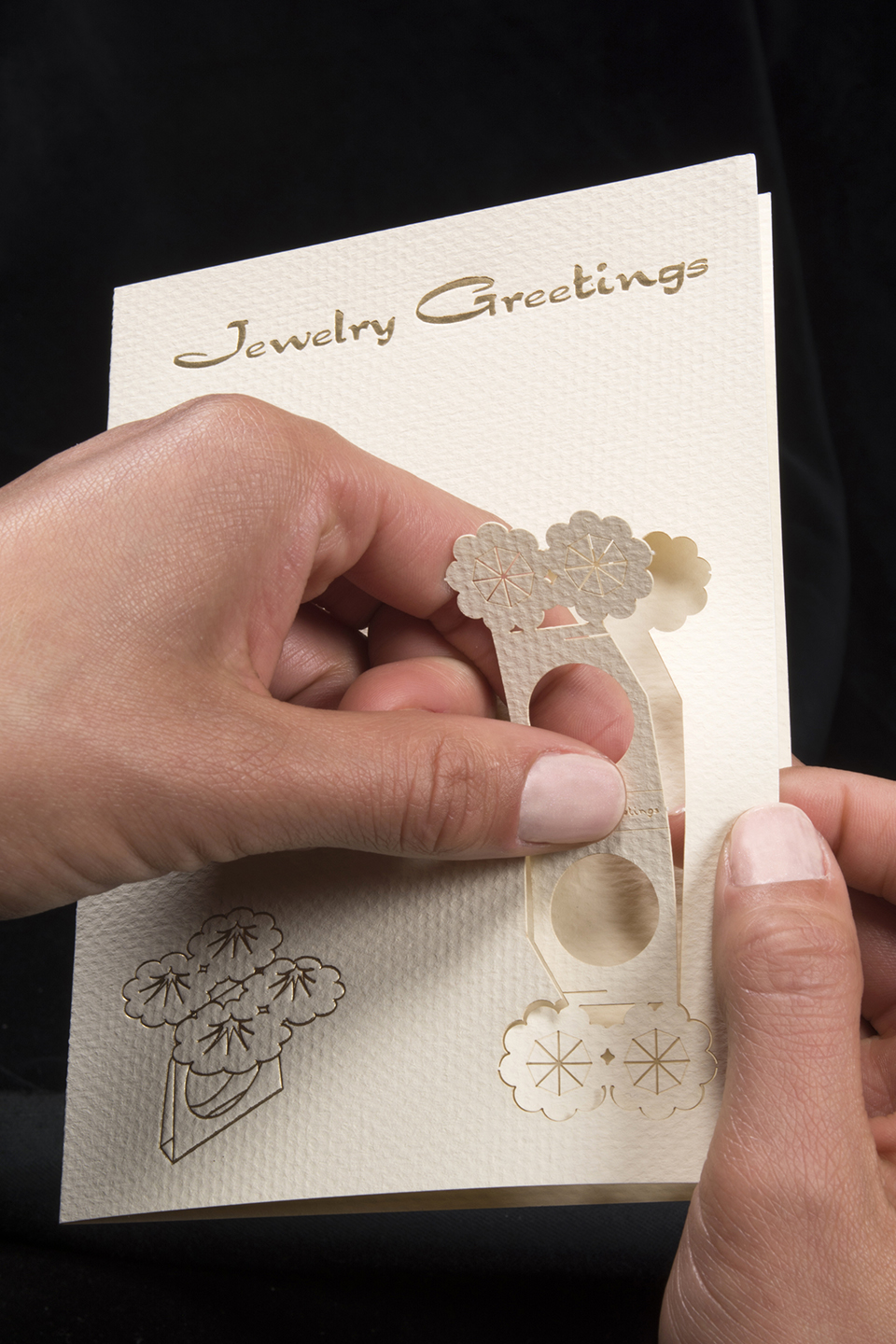 Greeting Cards That Fold Into Wearable Paper Rings All About