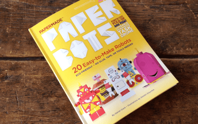 Paper Robots. 20 Easy-to-Make Robots. A Fun Book.