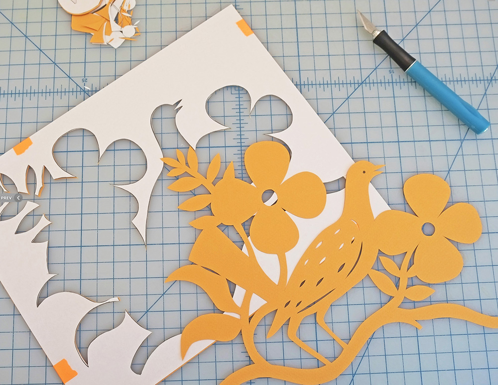 Come to my Papercutting Workshop in April of 2016!