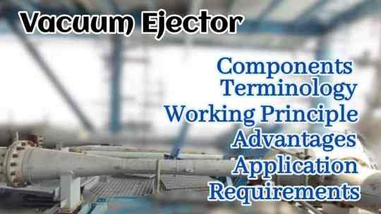 What is Vacuum Ejector