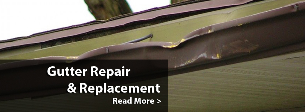Gutter Repair & Replacement