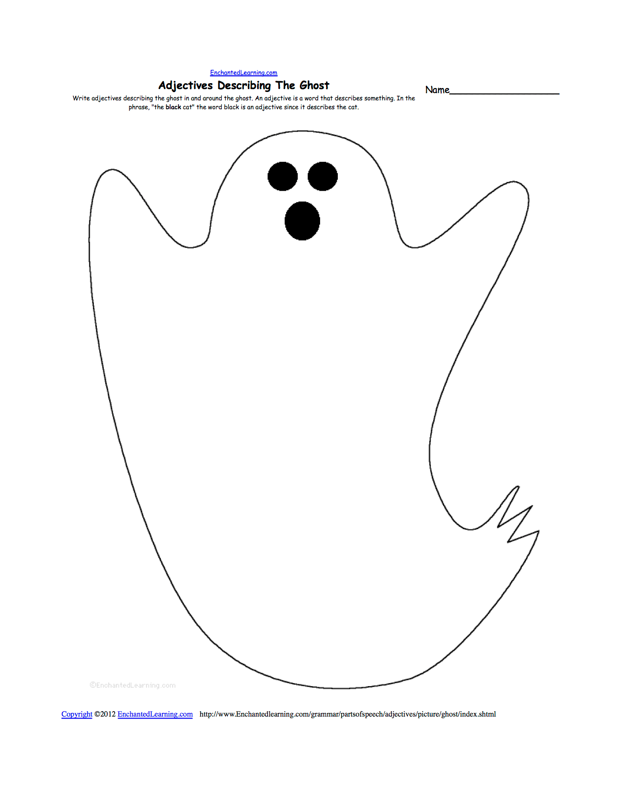 Halloween Activities Writing Worksheets