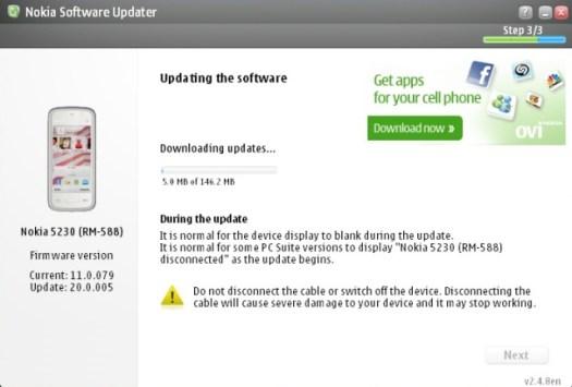 5230 Updating