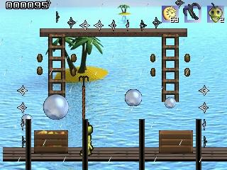 Linuggz tropical island screenshot