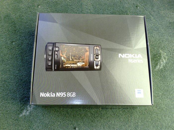 N95 8GB unboxing