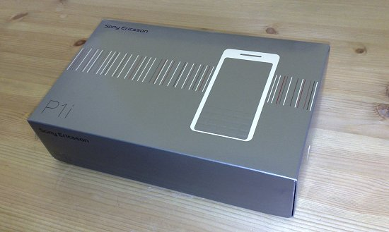 Unboxing the Sony Ericsson P1i