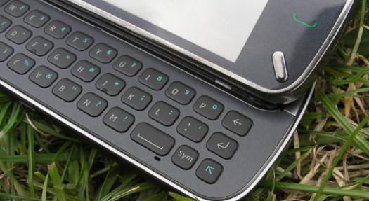 Retail Nokia N97 - keyboard